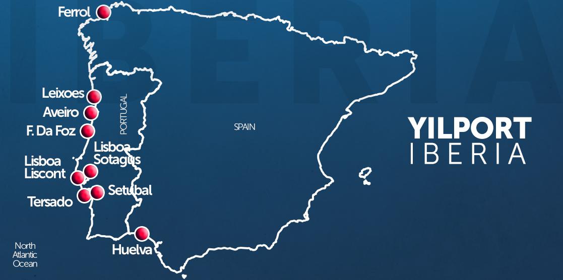 Terminales en Iberia